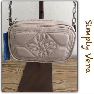 Simply Vera Tan Crossbody Bag